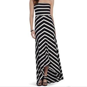 White House Black Market Strapless Maxi Dress XS